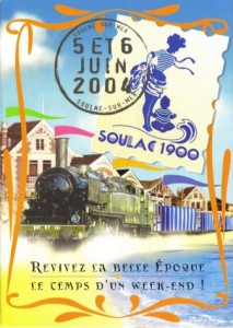 Soulac 1900 - Affiche Edition 2004