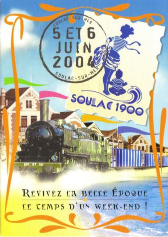 Soulac 1900 – Affiche Edition 2004