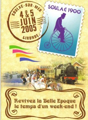 Soulac 1900 – Affiche Edition 2005