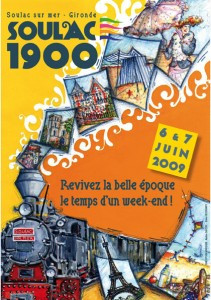 Soulac 1900 - Affiche Edition 2009