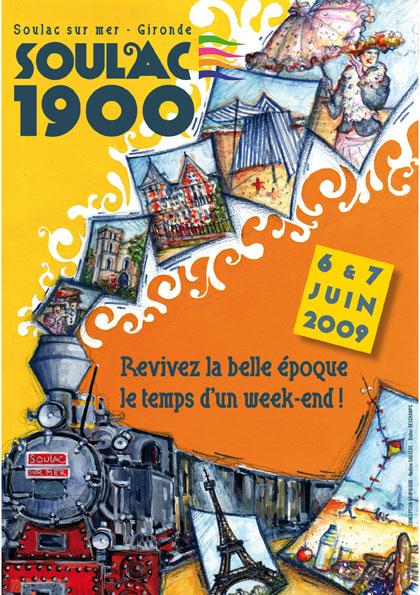 Soulac 1900 – Affiche Edition 2009