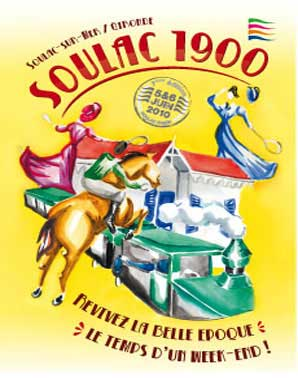 Soulac 1900 – Affiche Edition 2010