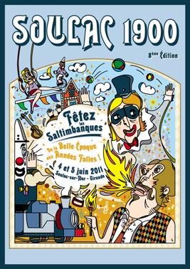 Soulac 1900 – Affiche Edition 2011