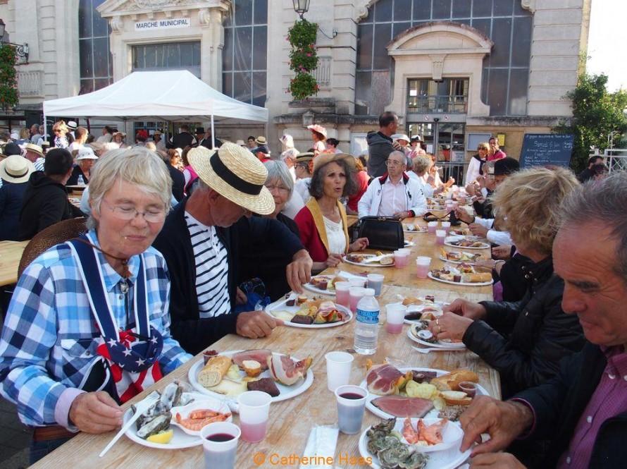 278 – L'assiette gourmande du marché de Soulac.