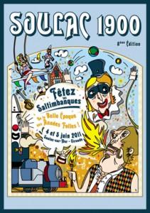 Soulac 1900 - Affiche Edition 2011