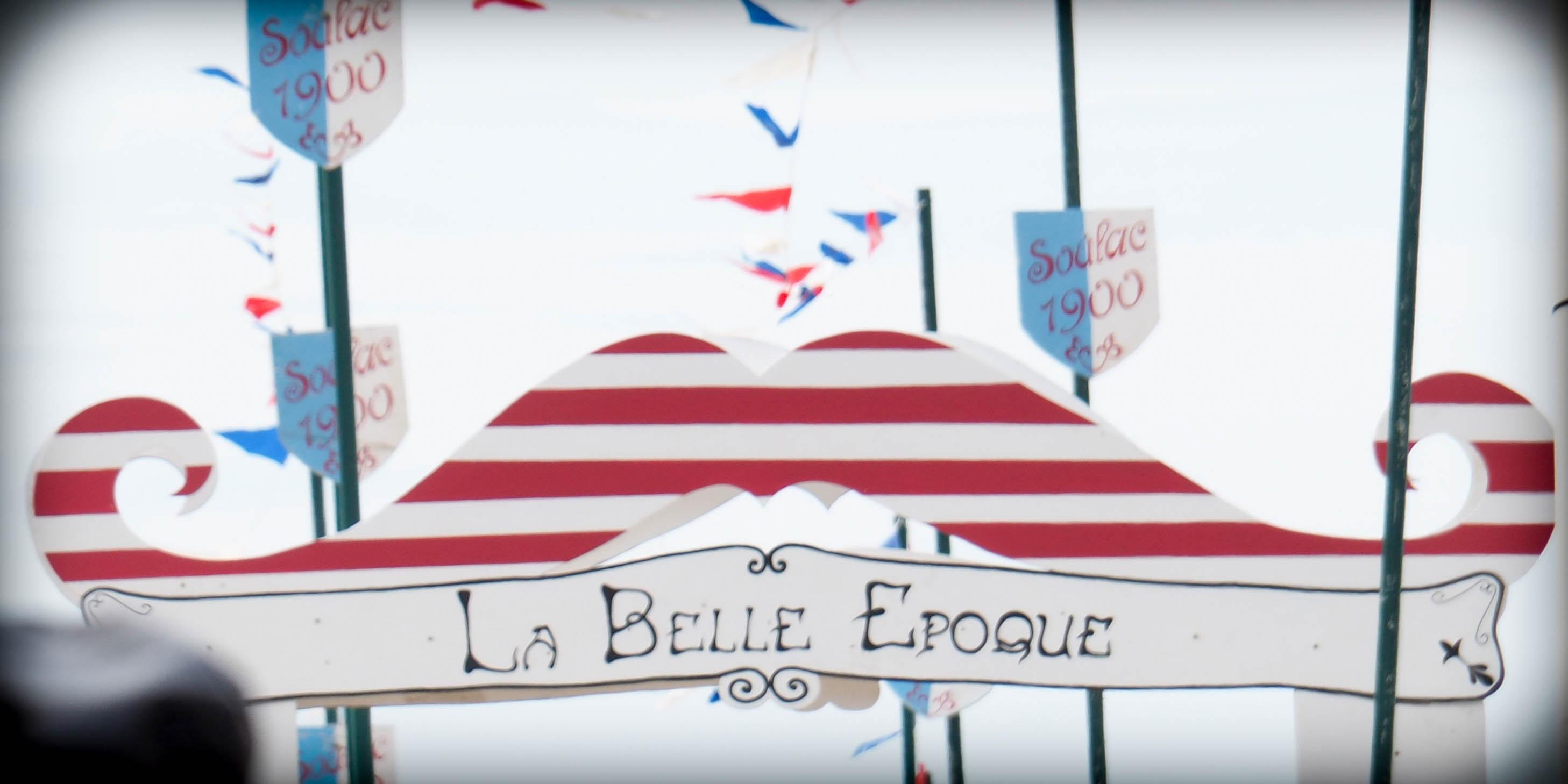 Soulac 1900 - La Belle Epoque - Moustache
